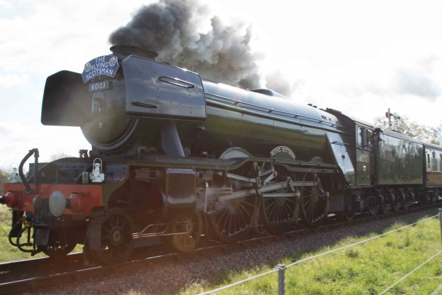The Flying Scotsman at The Bluebell Railway!
