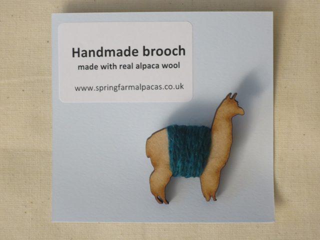 alpaca brooch