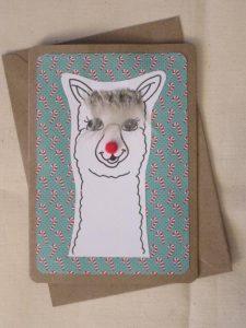 handmade xmas card
