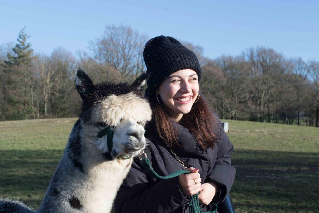 Alpaca selfie time
